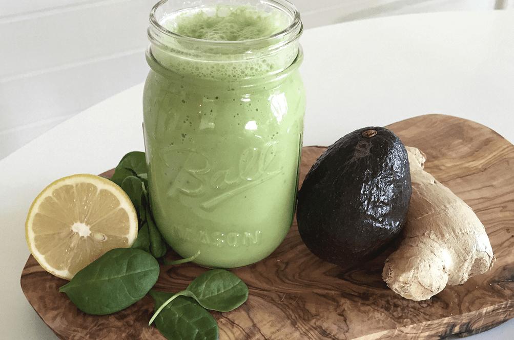 gröna smoothien