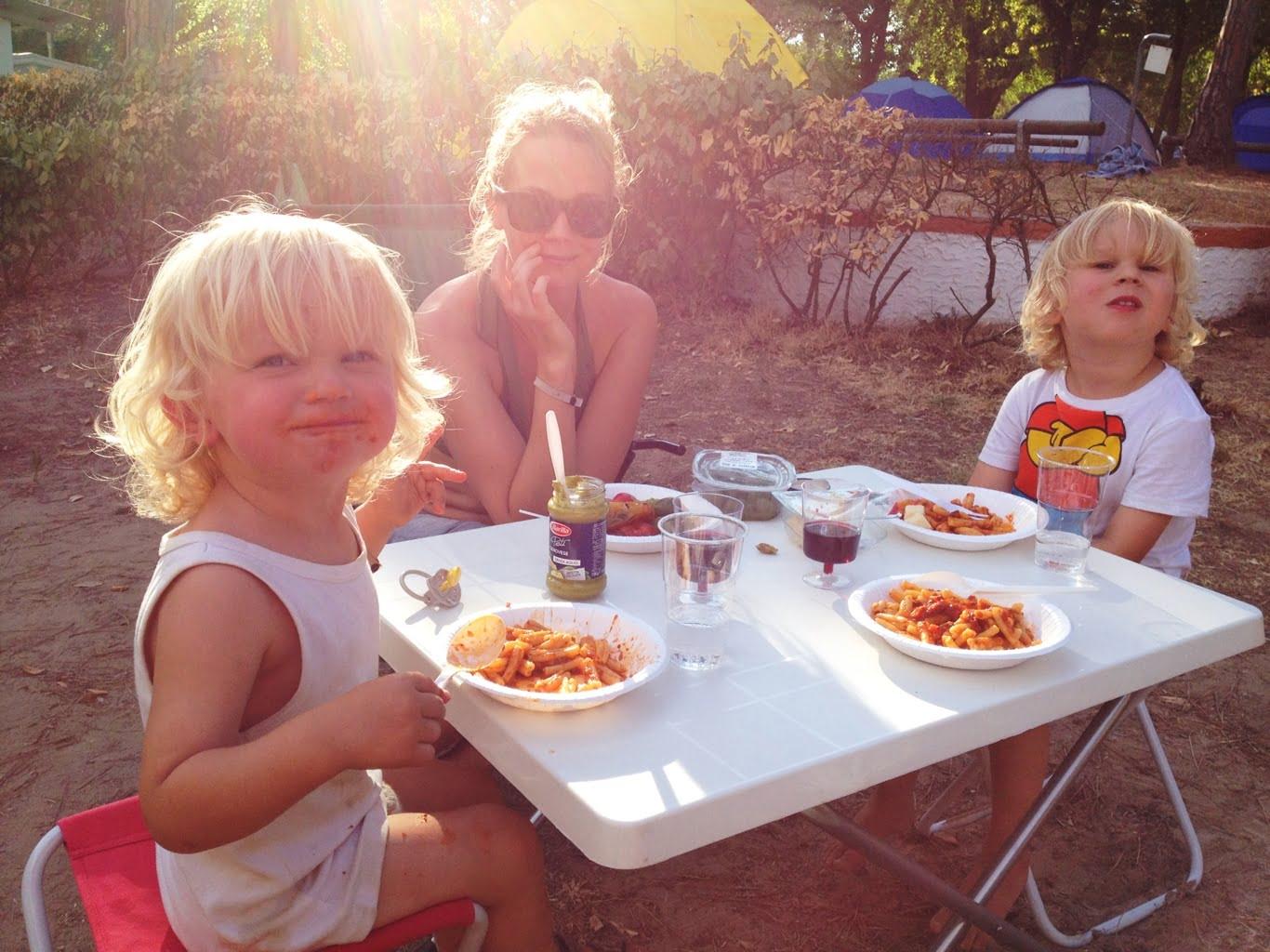 italien tälta barn