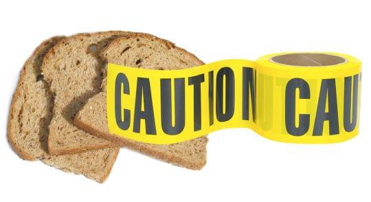 gluten farligt