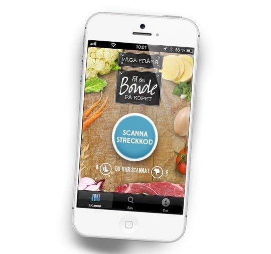 app bonde på köpet
