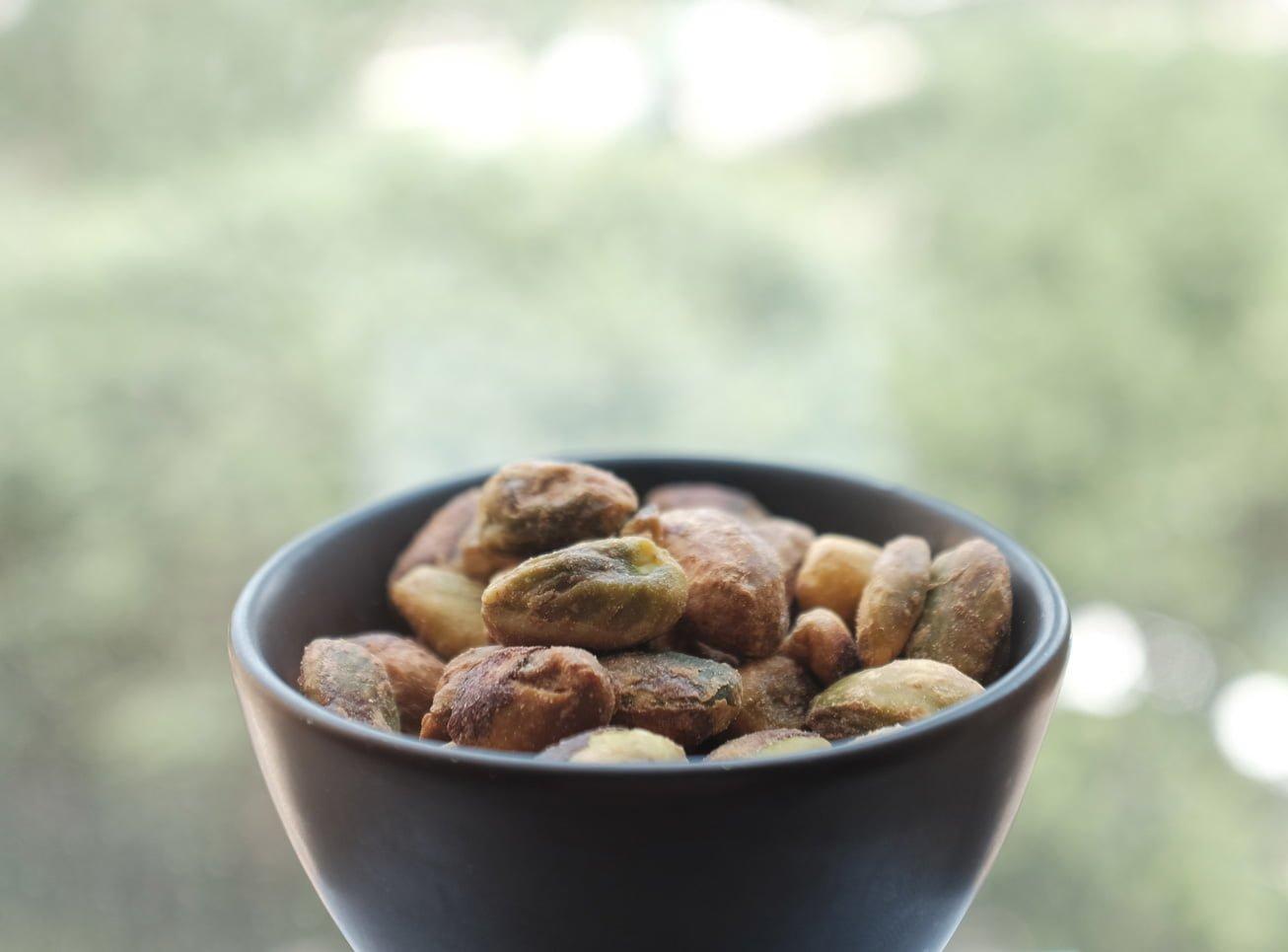 nötter näring