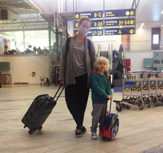 bali resa med barn