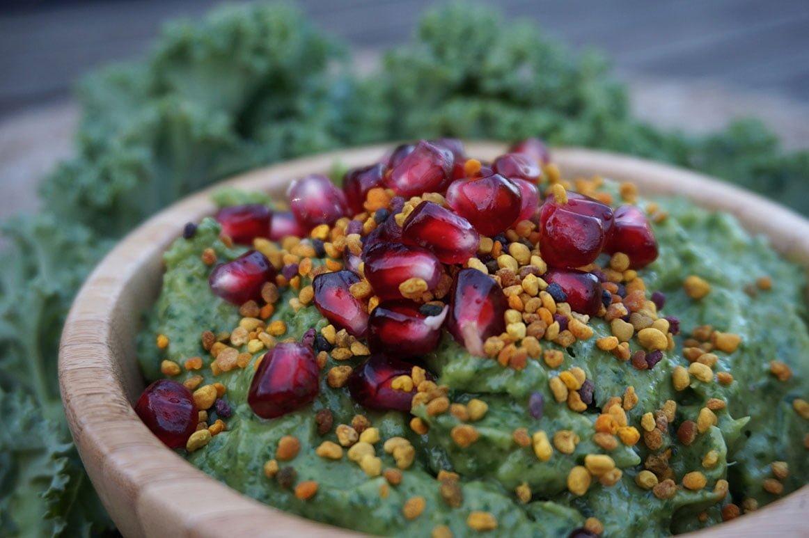 grönkålsbowl grönkålssmoothie