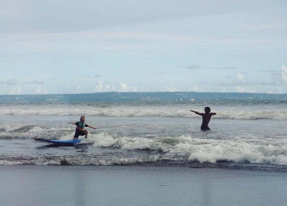 bali surfing barn