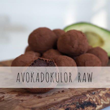 avokadokulor med choklad