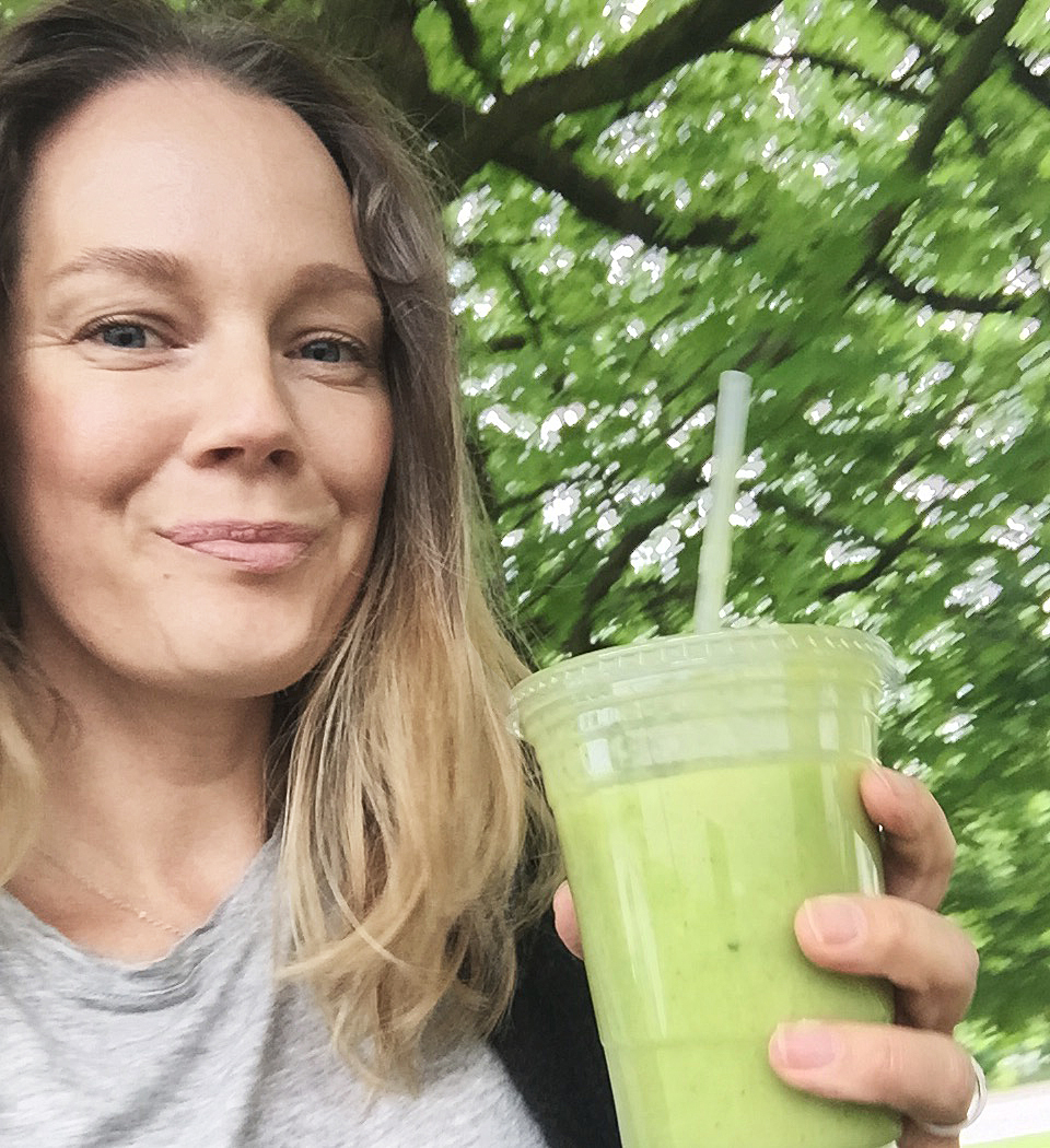 grön smoothie cecilia folkesson