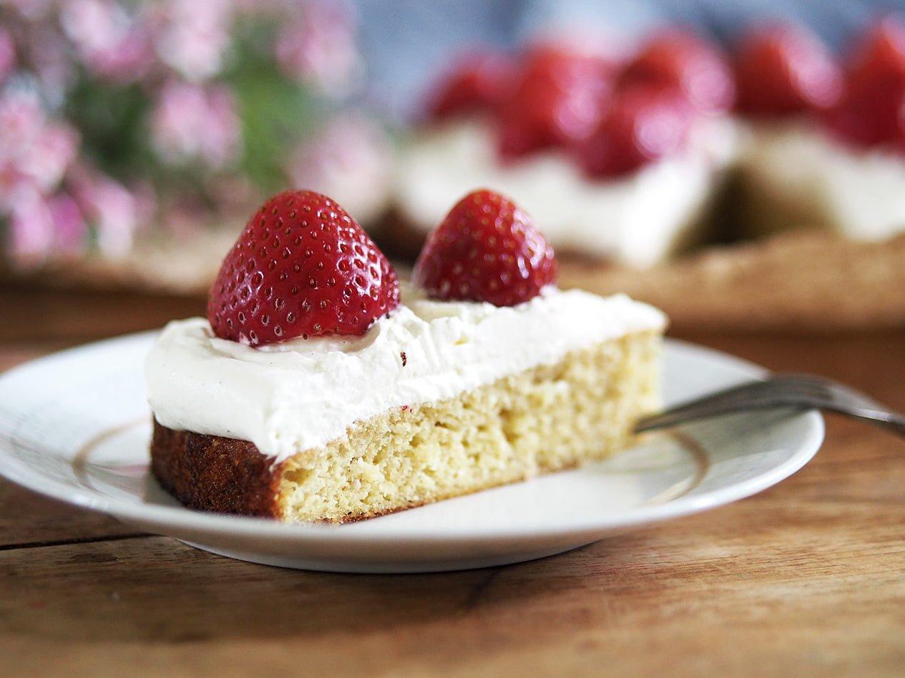 jordgubbstårta glutenfri