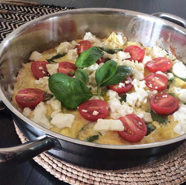omelett feta