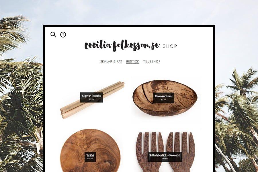 webshop cecilia folkesson