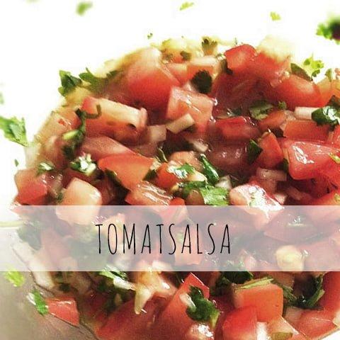 hemmagjord tomatsalsa