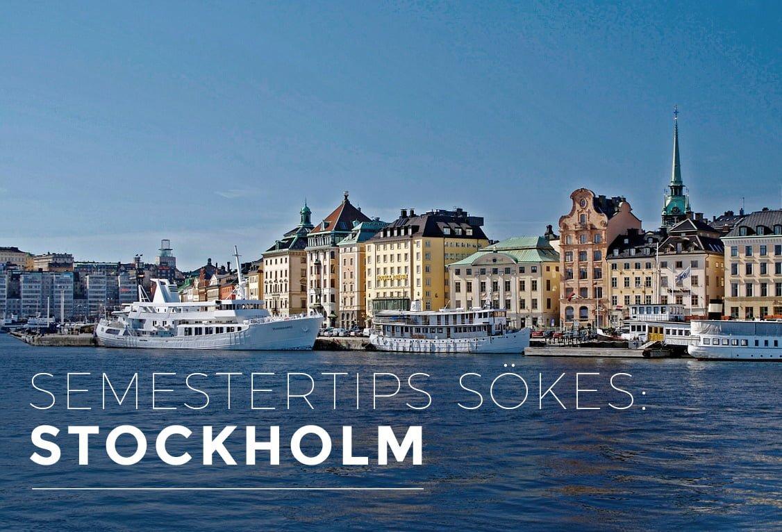 stockholm barnsemester