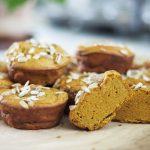 glutenfria frukostmuffins med morot