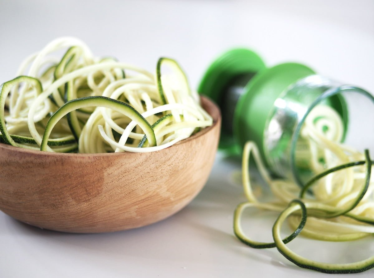 zoodles zucchinipasta
