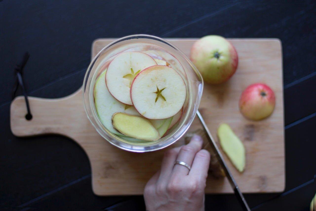 sockerfri äppeldryck