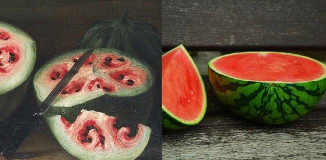 vattenmelon vild gmo förr nu