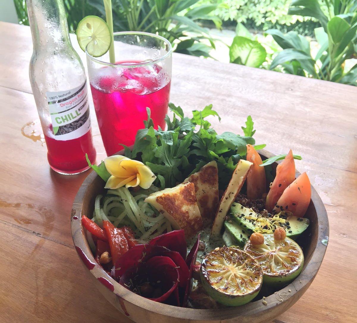 bali canggu glutenfritt naturlig mat