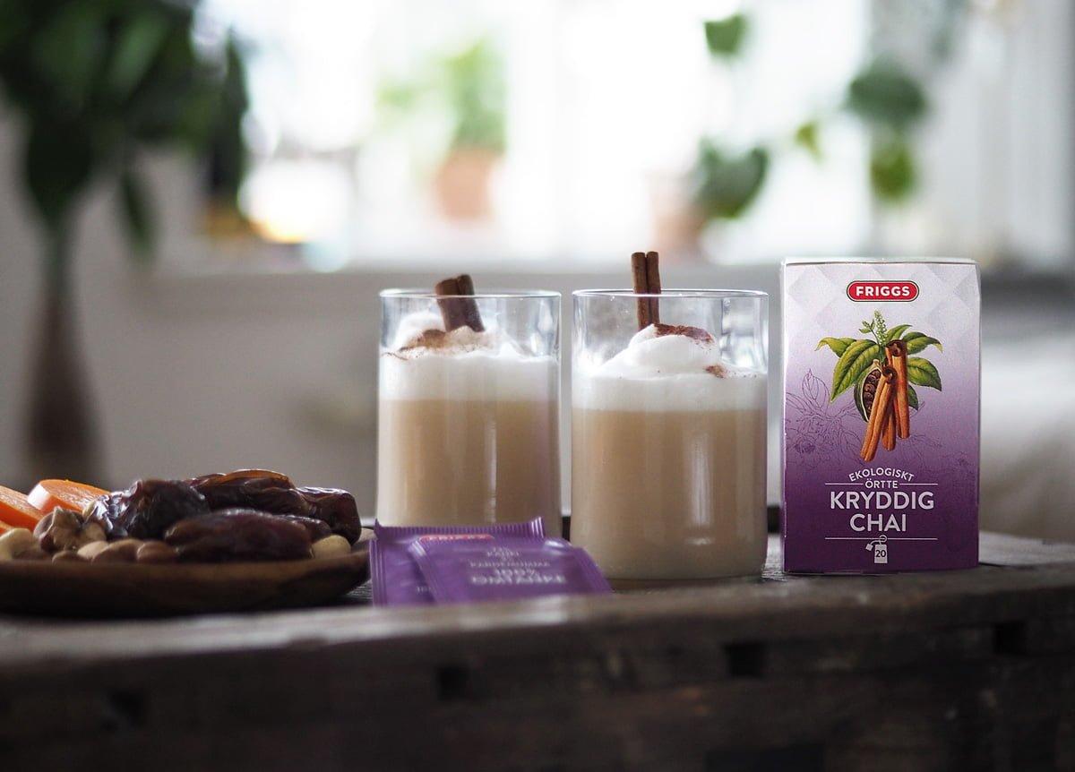 FRIGGS ekologiskt ekologisk chai latte