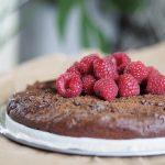Nyttig dessert kladdkaka glutenfri paleo