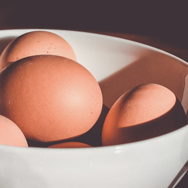 mellanmål ägg