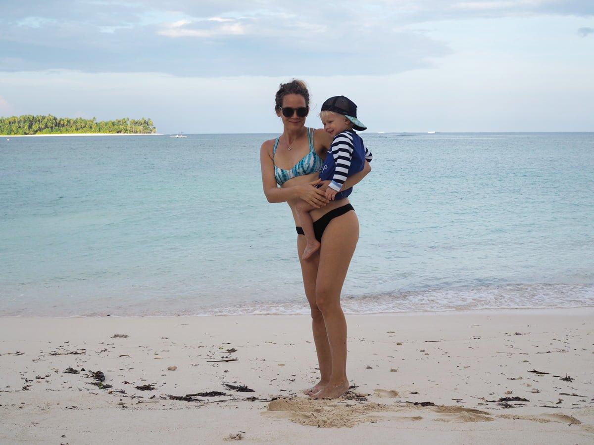 Asien resa med barn mentawai