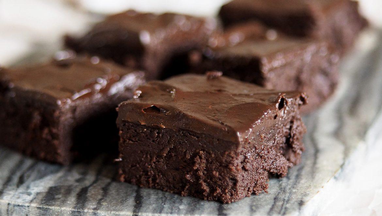 brownies med avokado glutenfria