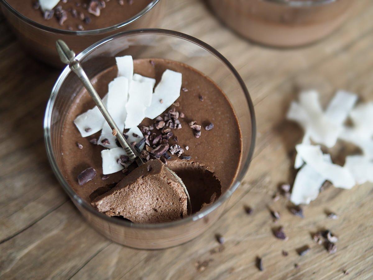 chokladpudding kokosmjölk mejerifri