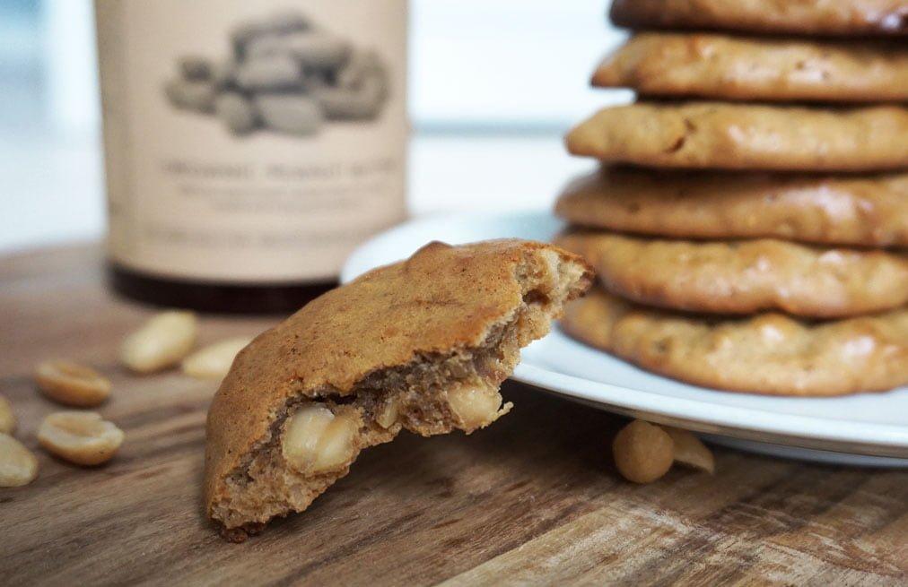 jordnötskakor peanut butter cookies