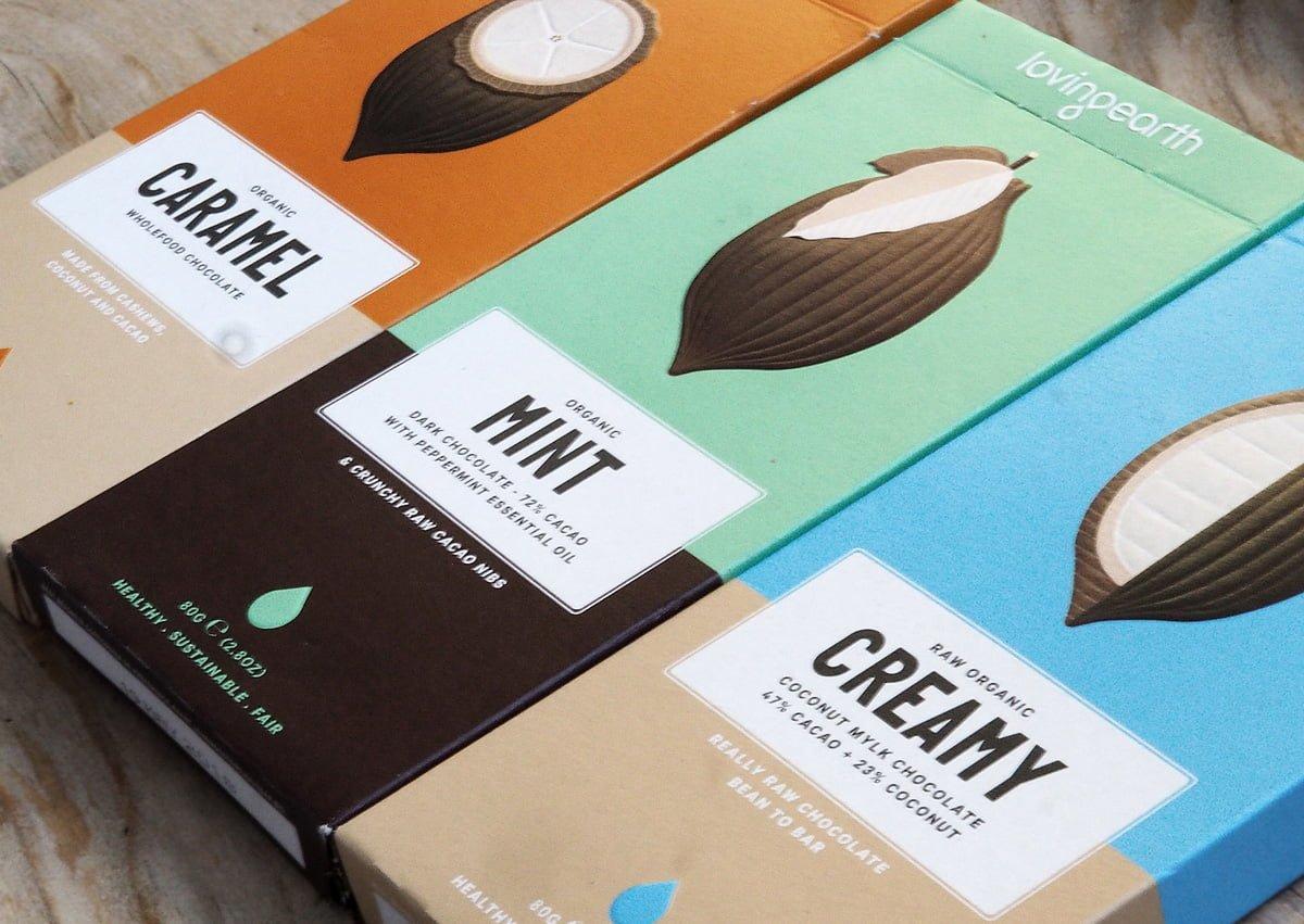 lovingearth raw mejerifri choklad