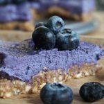 raw blåbärscheesecake
