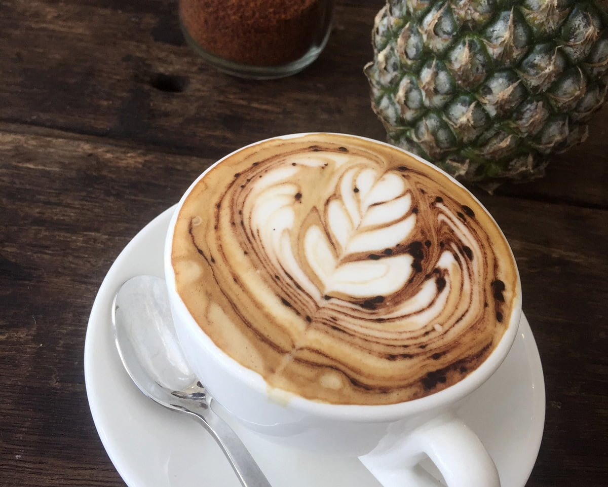 coconut cappuccino canggu bali