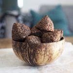 sockerfria kokostoppar choklad