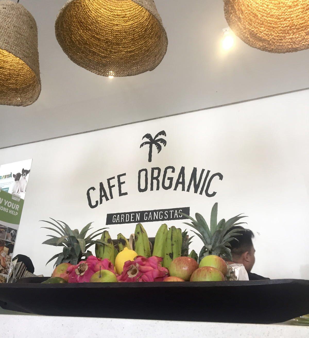 cafe organic canggu