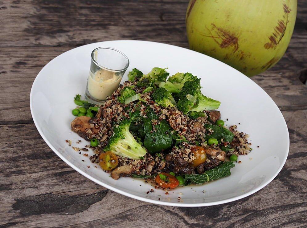 quinoa sallad