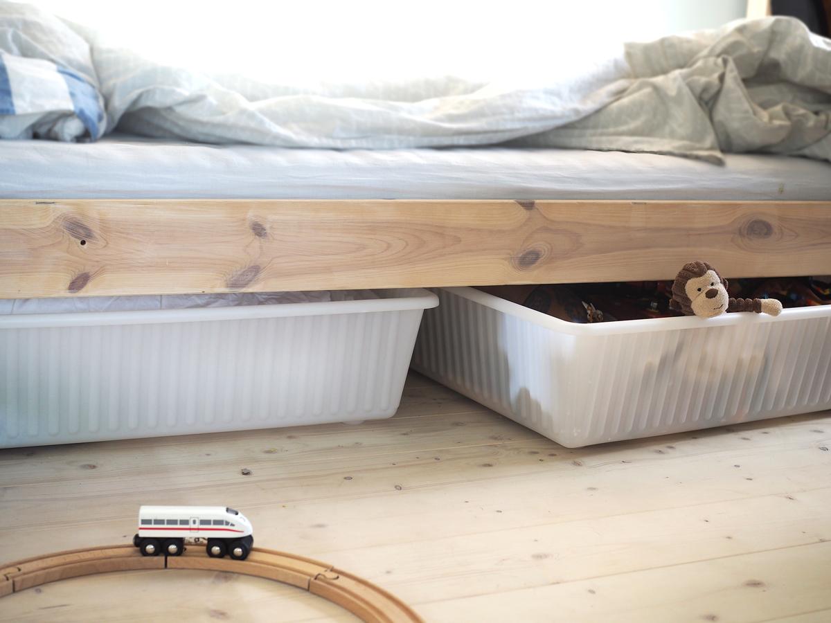 compact living sänglådor