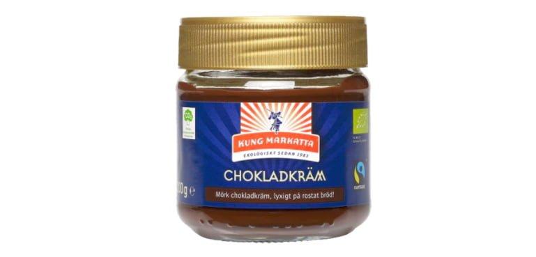 chokladkräm kung markatta