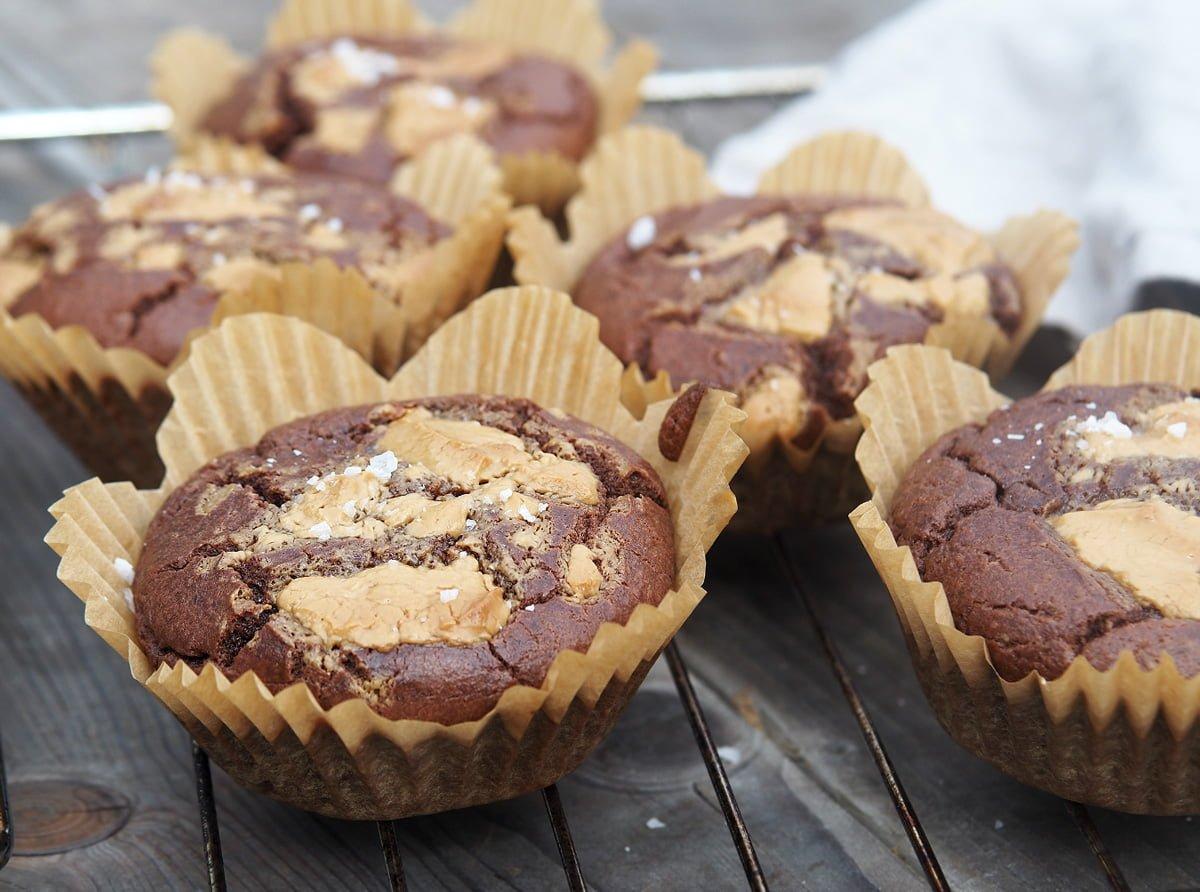 chokladmuffins banan glutenfritt