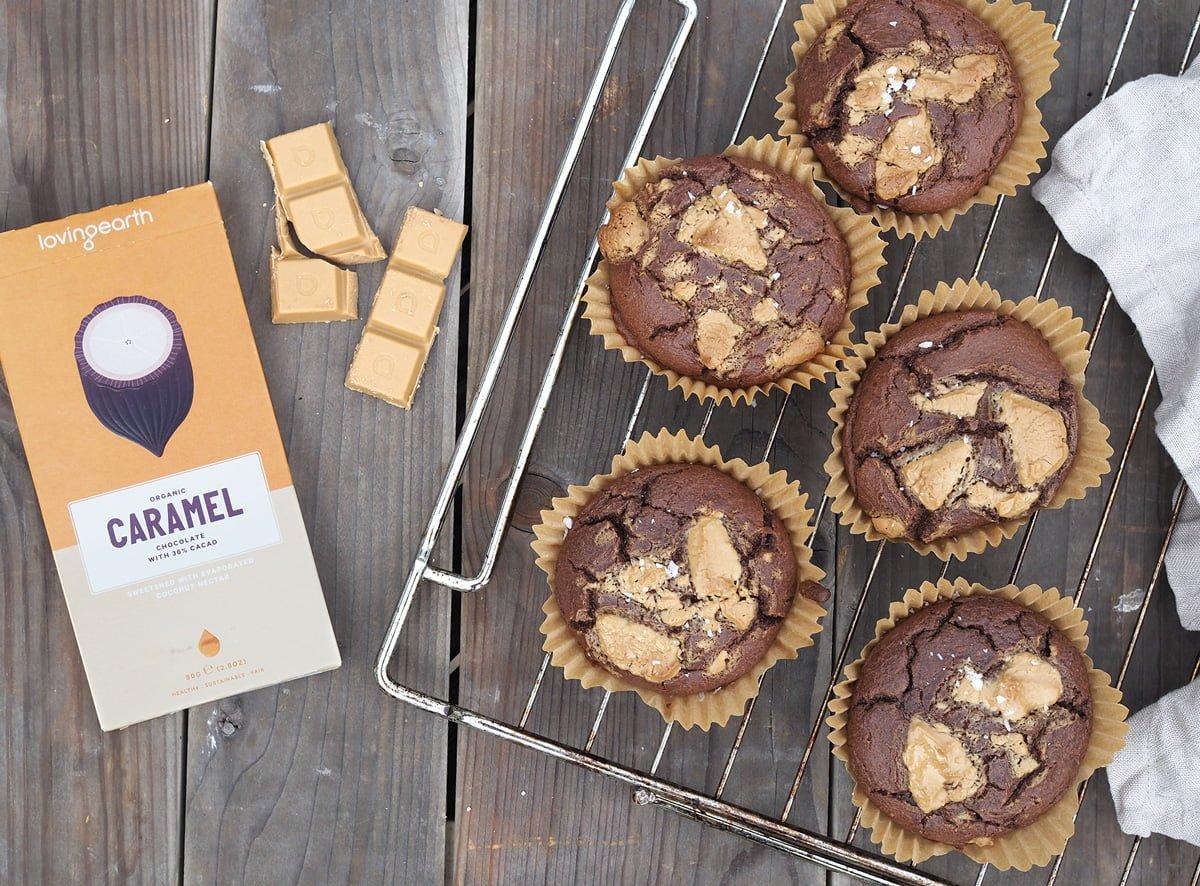 chokladmuffins banan paleo