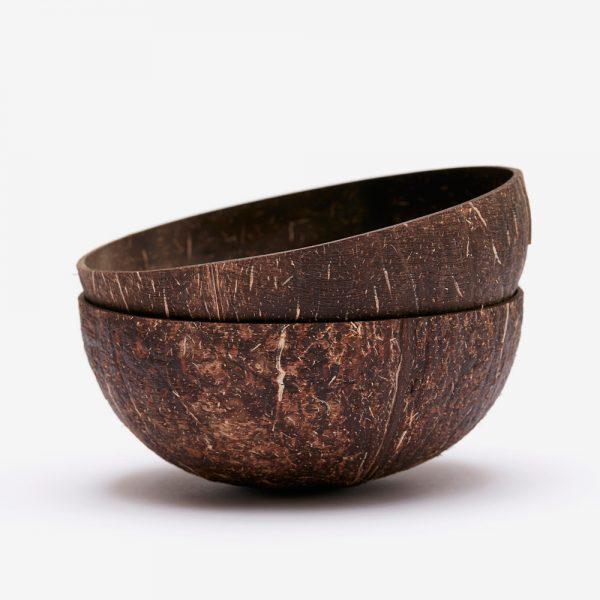 kokosnötsskål natural earthy