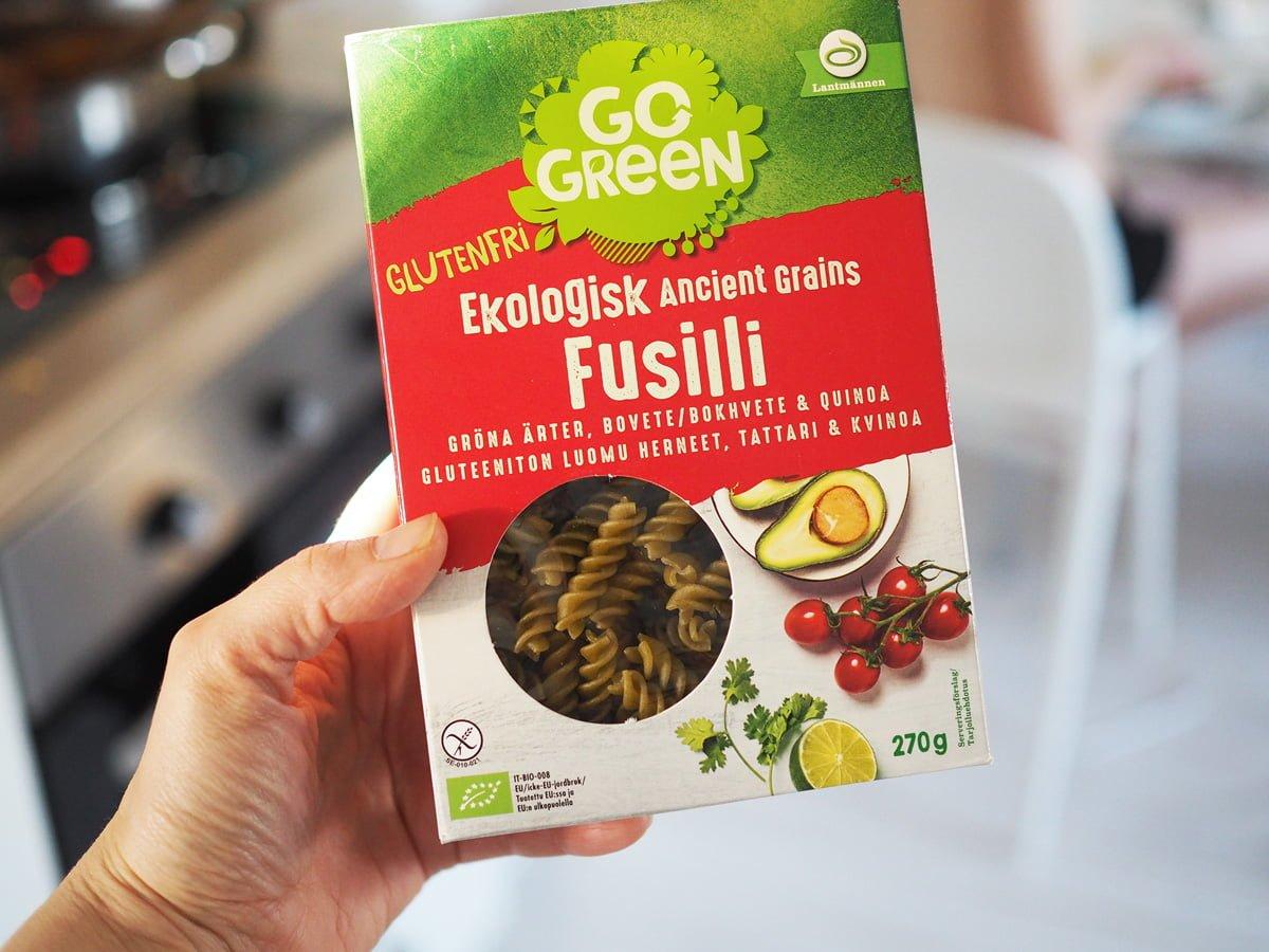glutenfri pasta go green