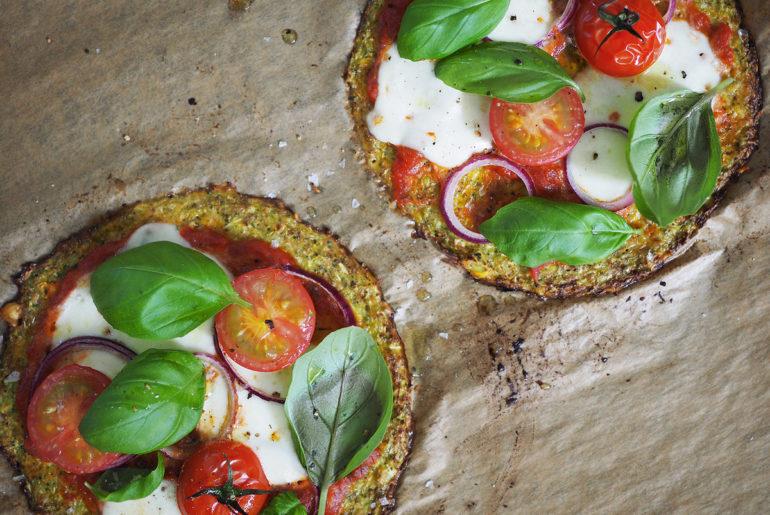 vegetarisk broccolipizza glutenfri