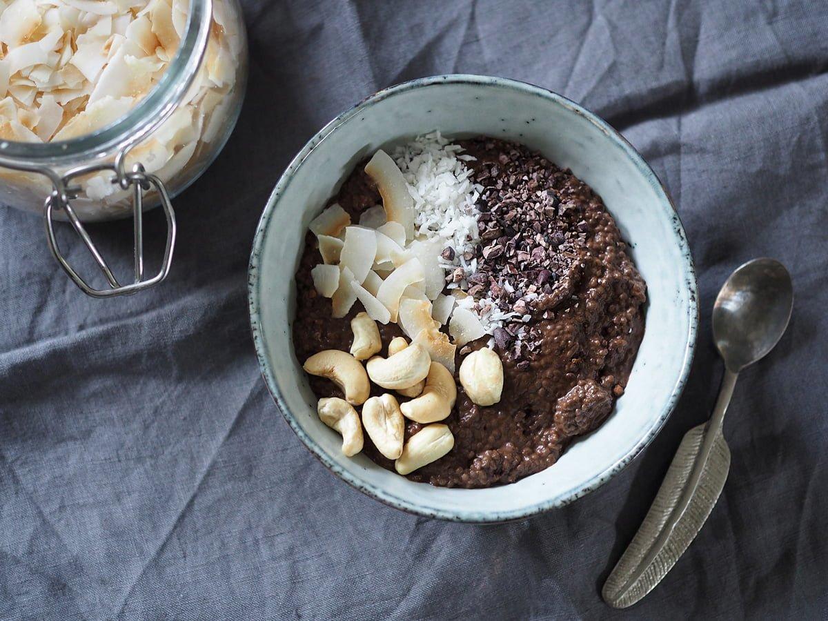 chiapudding choklad