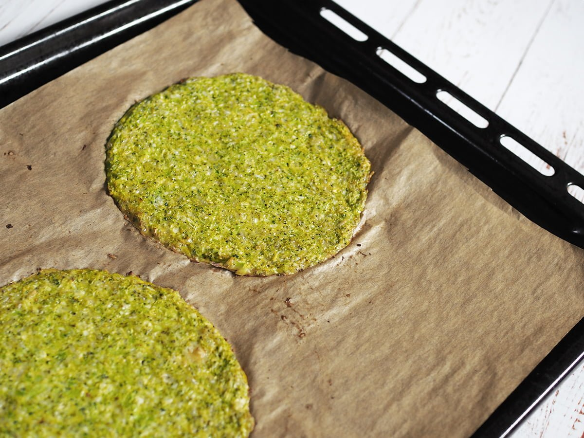 vegetarisk broccolipizza glutenfri