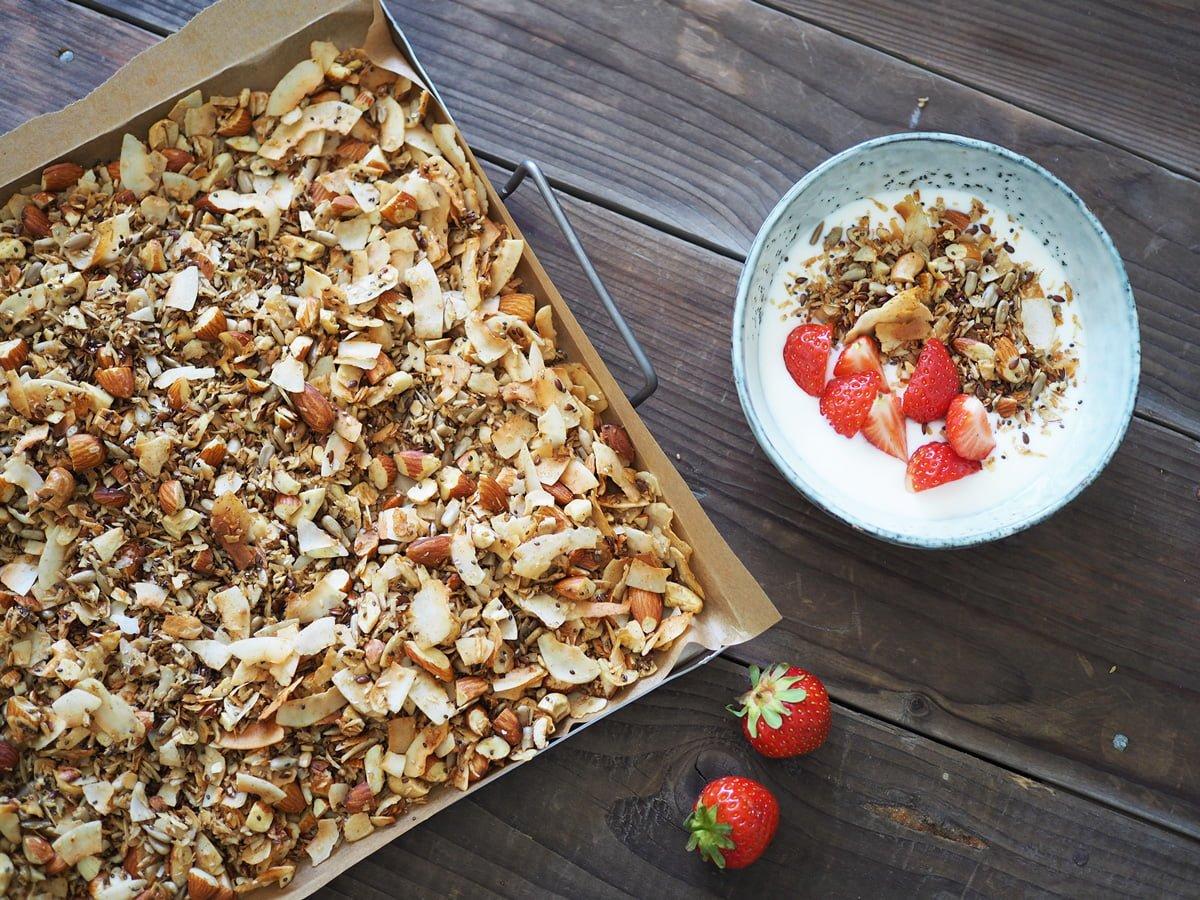 lakrits granola glutenfri