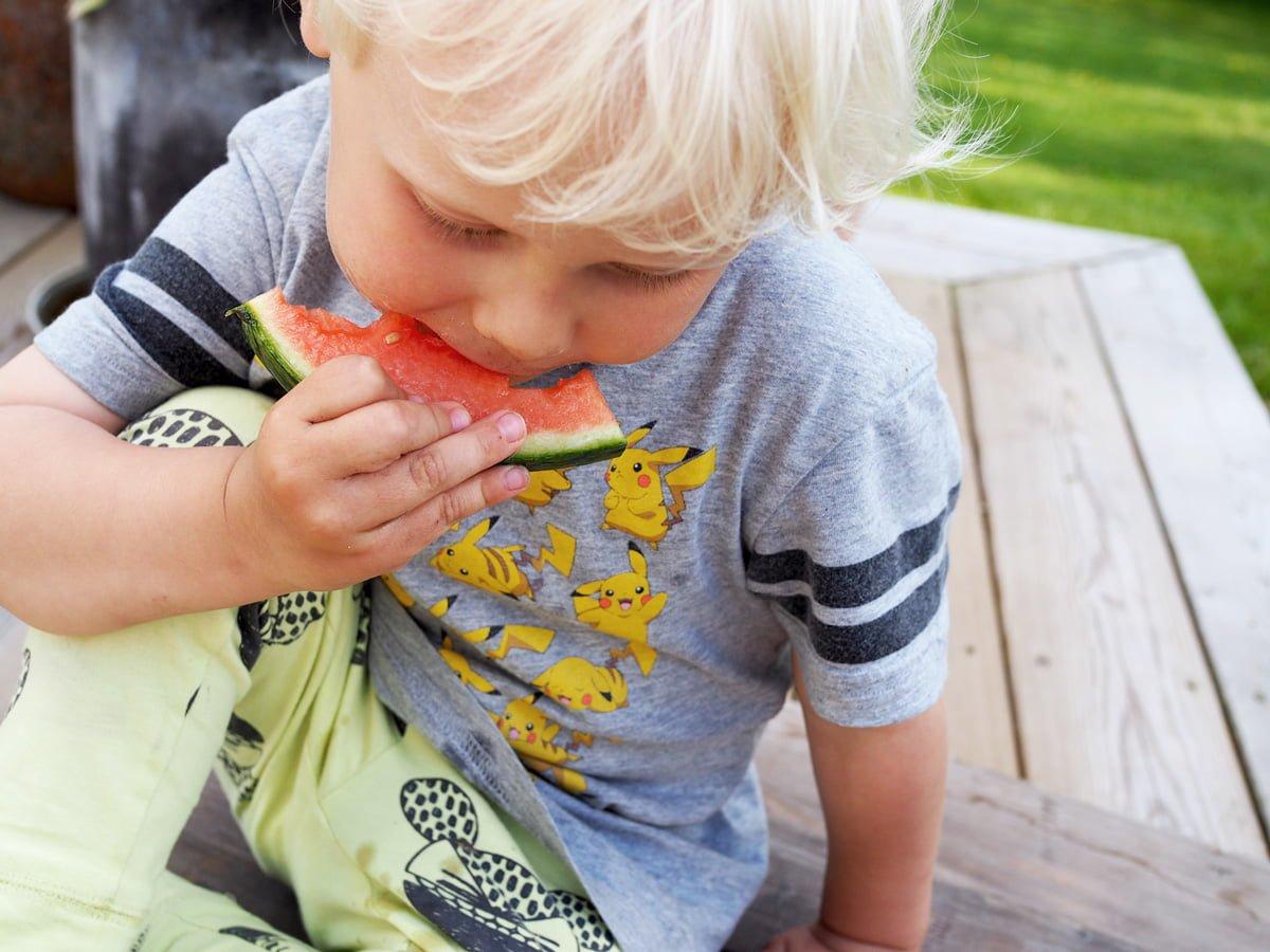 ekologisk vattenmelon