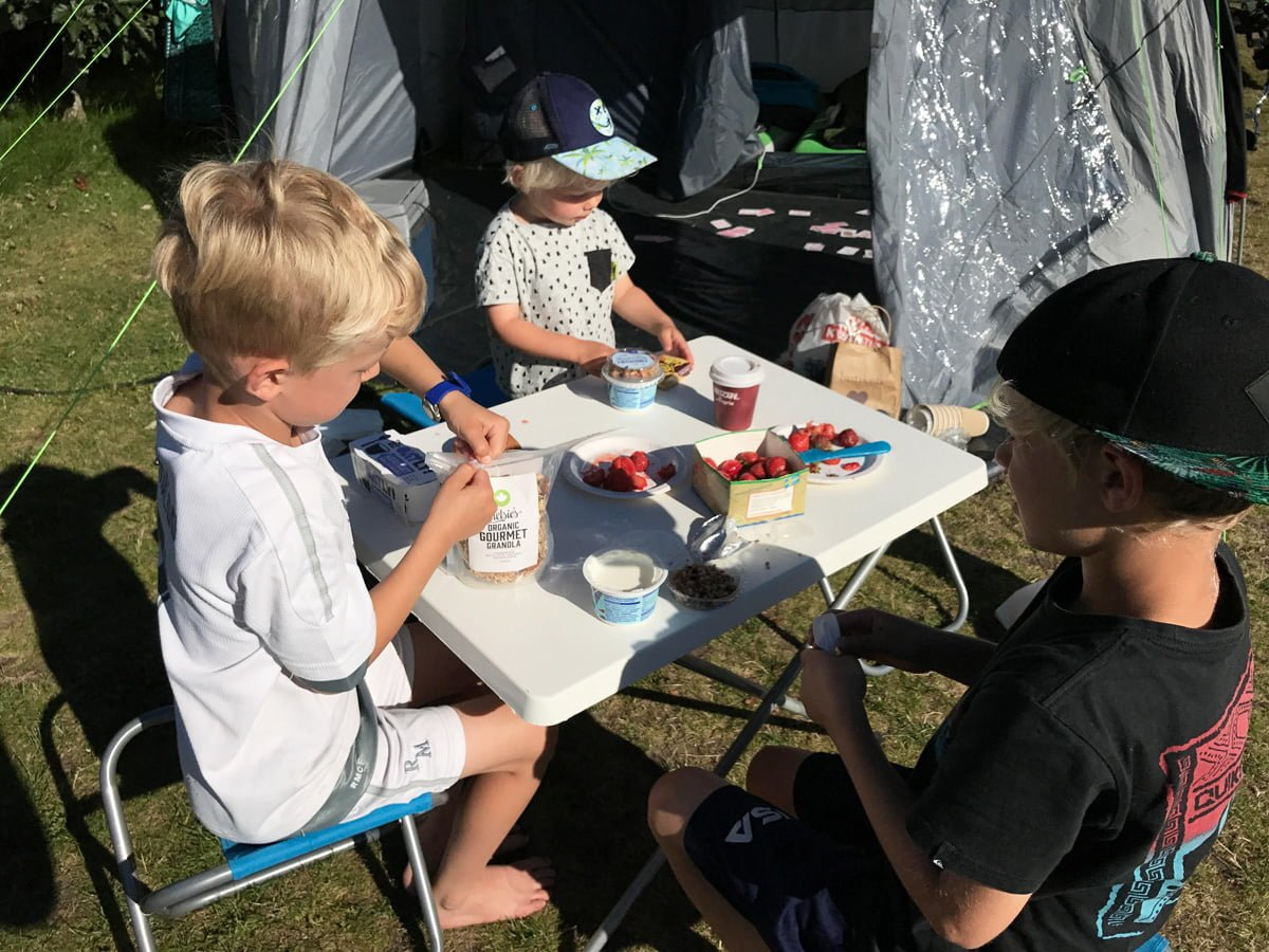 frukost camping