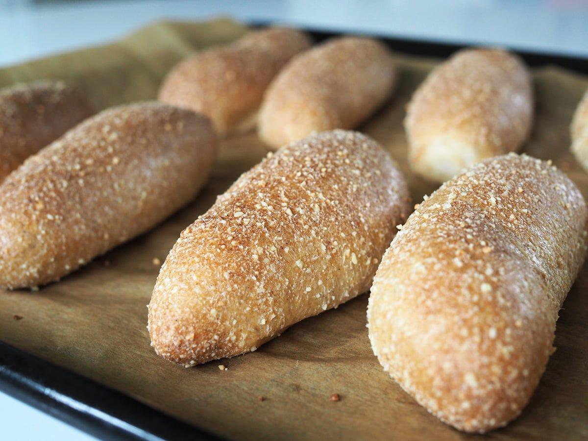 glutenfria korvbröd
