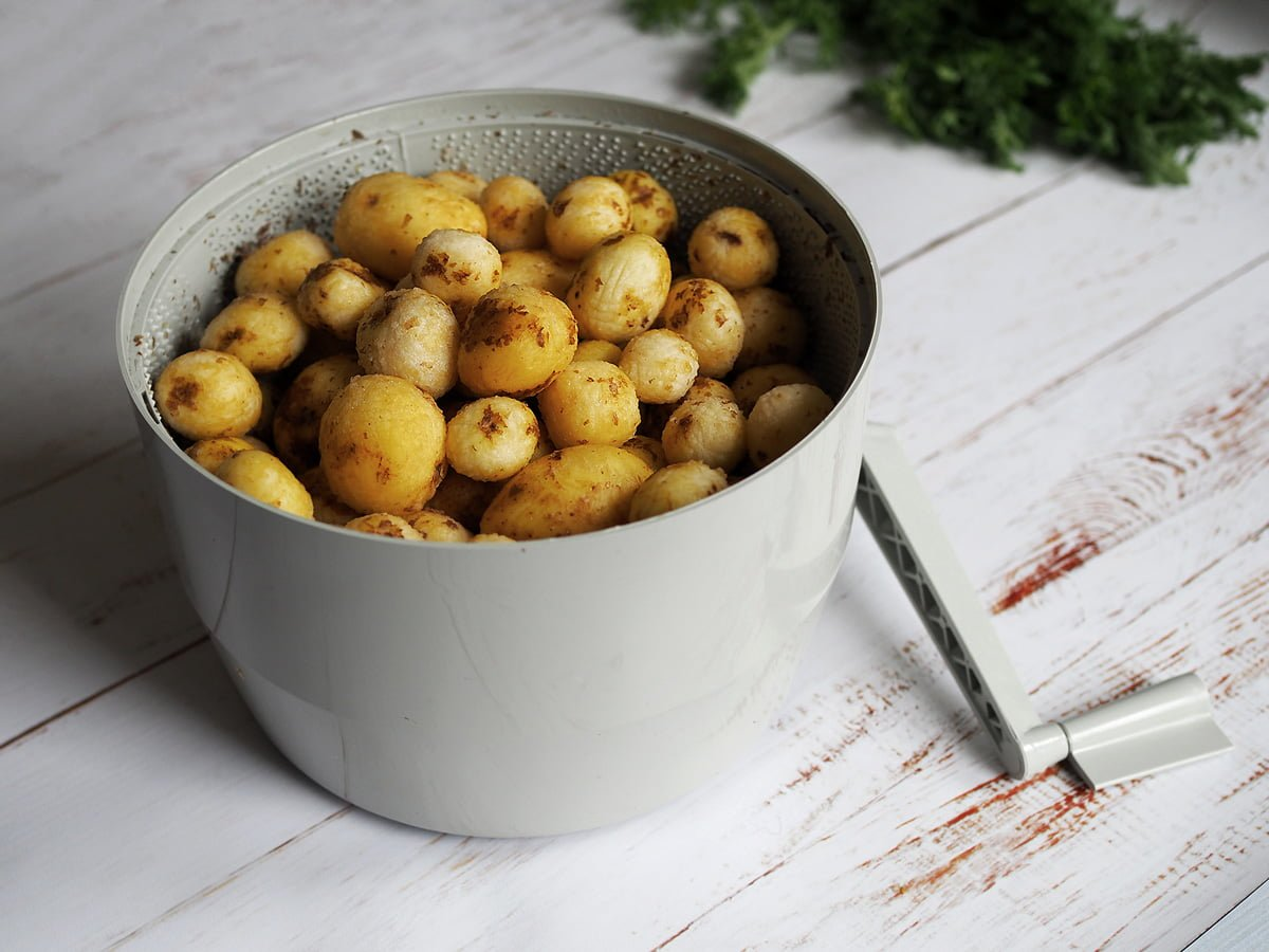 potatisskalare vev