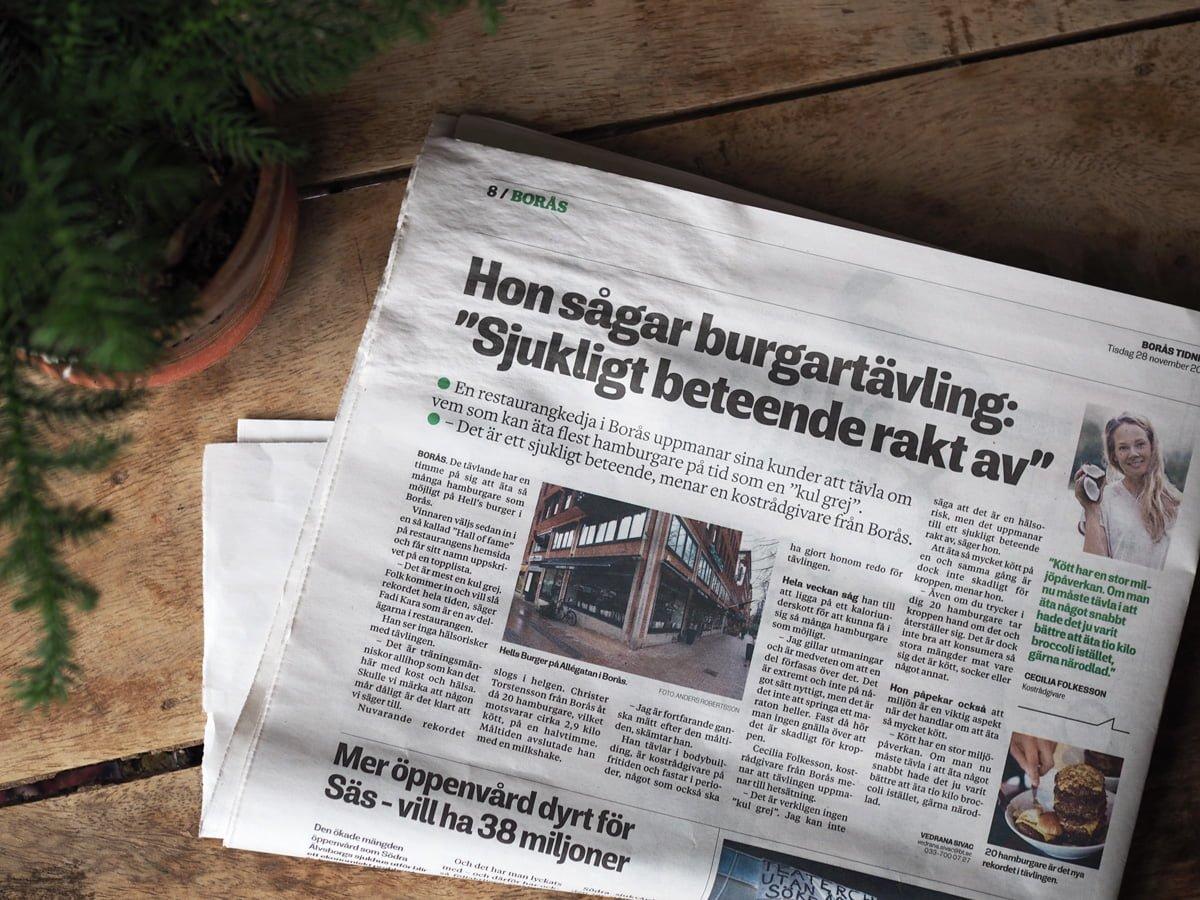 borås tidning hamburgetävling