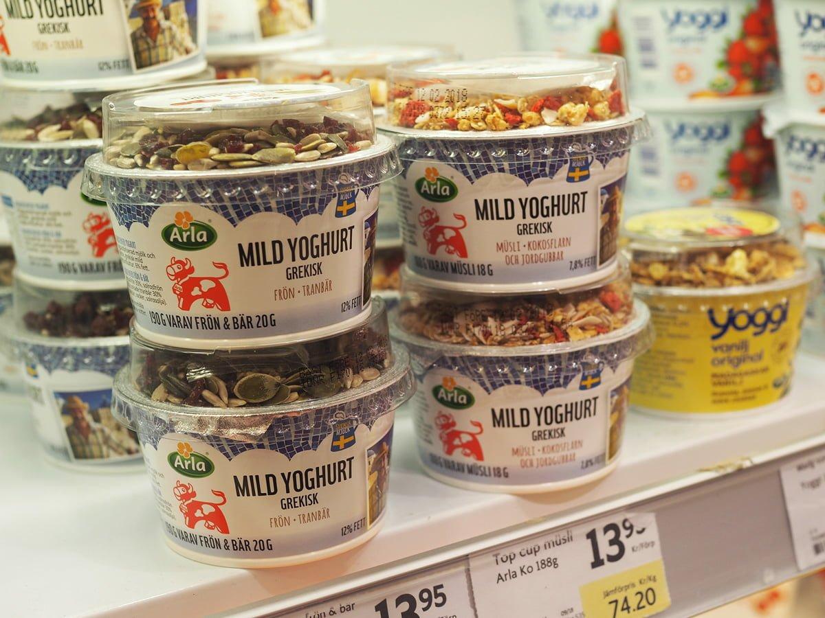 arla yoghurt grekisk
