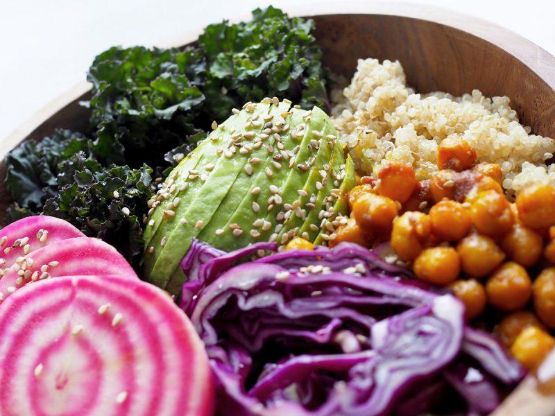 buddha bowl med quinoa
